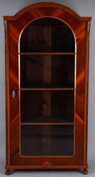 Display Cabinet - solid walnut wood - 1870