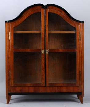 Display Cabinet - cherry wood - BIEDERMEIER - 1830