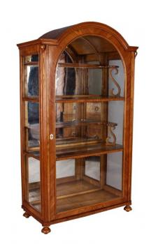 Display Cabinet - ash wood, glass - 1870