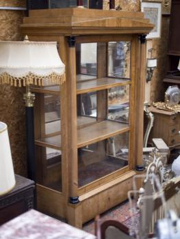 Display Cabinet - wood - 1850