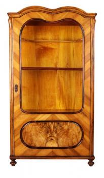 Display Cabinet - walnut wood - 1900
